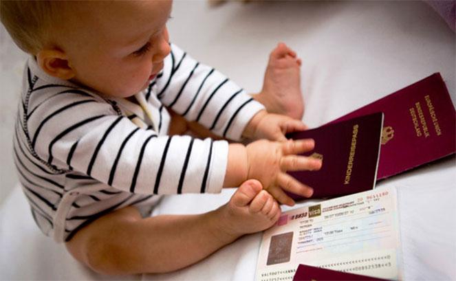 Как сделать гражданство новорожденному ребенку. Штамп о гражданстве на свидетельство о рождении.