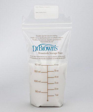 Так выглядит пакет для замораживания грудного молока