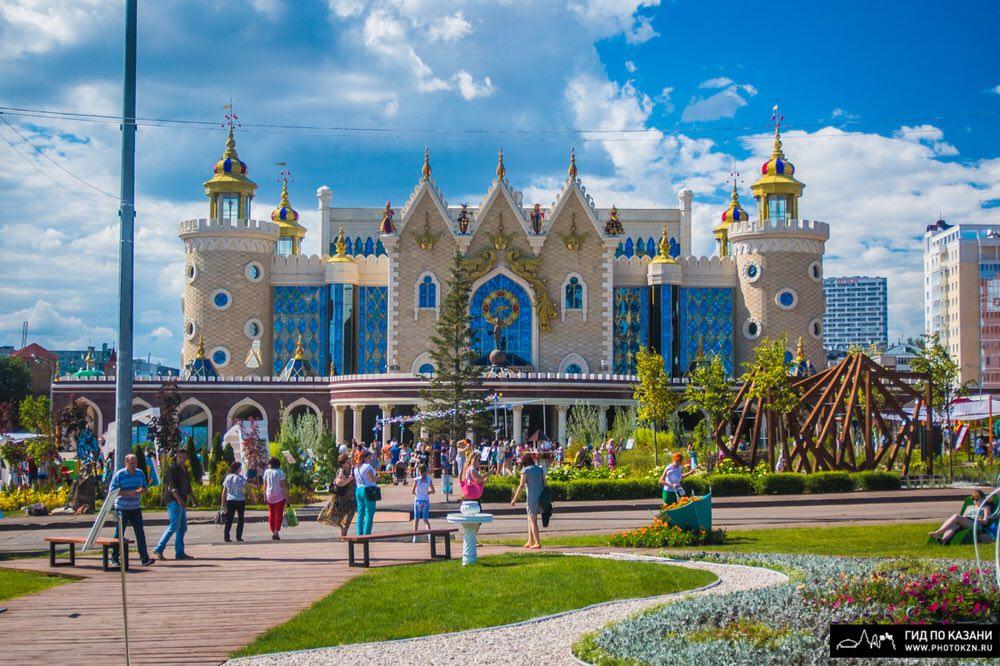 Куда сходить с ребенком в Казани на выходных